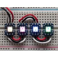 Neopixel - Breadboard Friendly RGB - 4 Pack