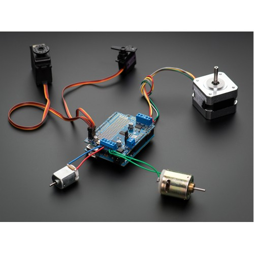 Motor-Stepper-Servo Shield for Arduino v2 Kit - v2.3